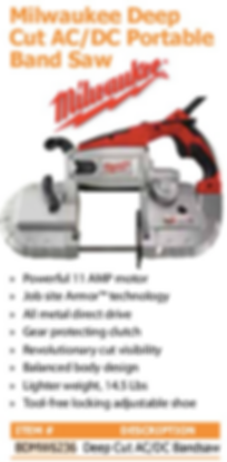 milwaukee deep cut ac/dcportable band saw