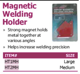 magnetic welder holder