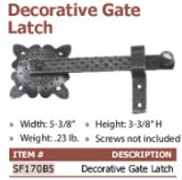 decorative gte latch