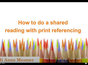 Shared Reading with Print Referencing.JP