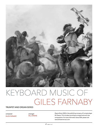 Keyboard Music of Giles Farnaby