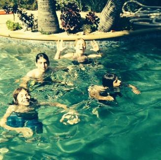 Jew School in the Pool