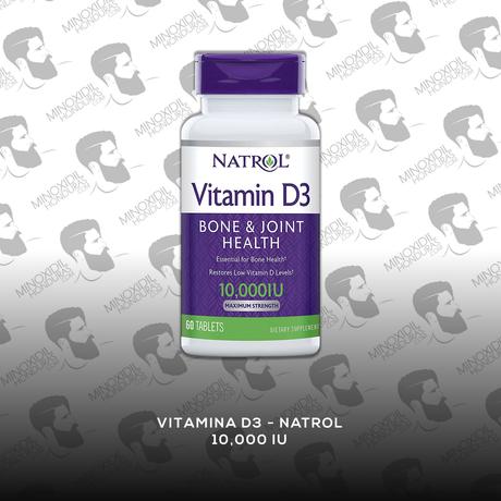 Vitamina D3 [10,000 IU] (60 Tabletas) Natrol