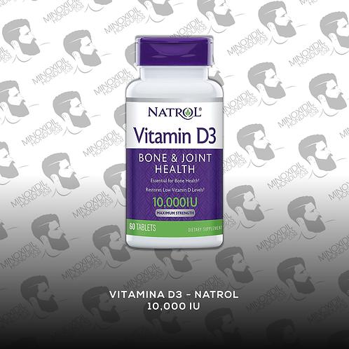 Vitamina D3 Natrol 10,000IU