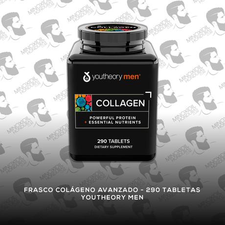 Colágeno Avanzado [290 Tabletas] Youtheory Men