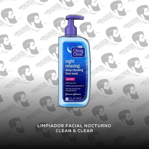 Limpiador Facial Nocturno - Clean & Clear