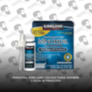 6 Frascos - Minoxidil Kirkland 5% [Hombre] - PROMOCIÓN