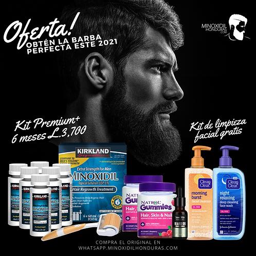 Kit Premium 6 Meses + 1 kit Limpieza facial [Barba]