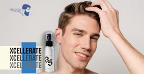 Xcellerate 35: Previene la caída de cabello.