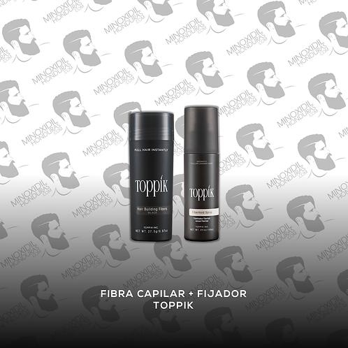 Fibra Capilar + Fijador Toppik