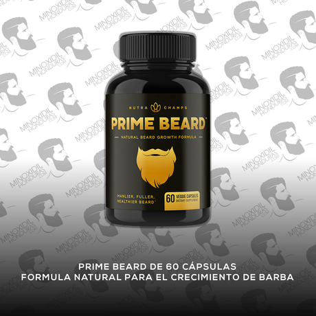 Prime Beard [60 Cápsulas] Vitaminas