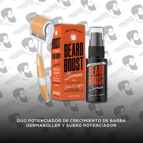 Duo Potenciador de Crecimiento de Barba