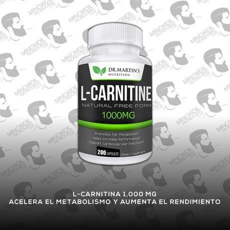 L-Carnitina Dr. Matin's Nutrition