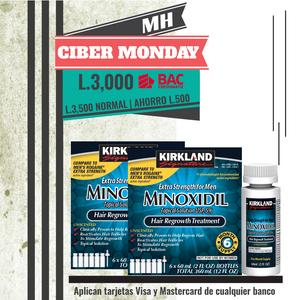12 frascos de Minoxidil Kirkland