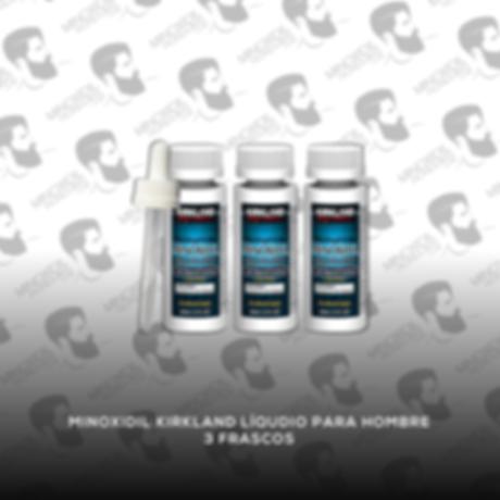 3 Frascos Minoxidil Kirkland 5% [Hombre]