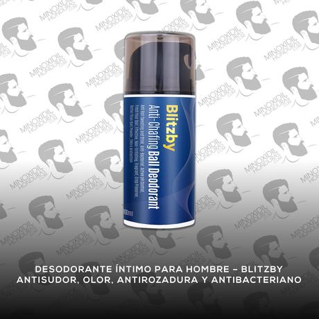 Desodorante Íntimo para Hombres Blitzby