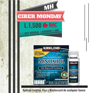 6 Frascos de Minoxidil