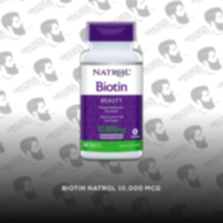 Biotina [10,000 mcg.] Natrol