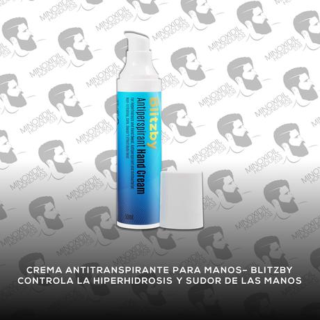 Crema Antitranspirante para manos Blitzby