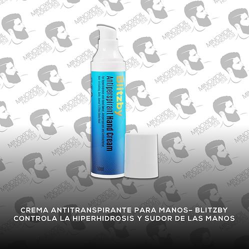 Crema Antitranspirante para Manos - Blitzby