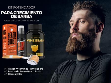 Kit potenciador de crecimiento de barba