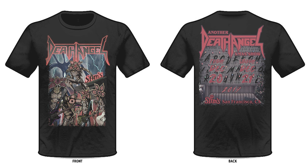 Another Death Angel Xmas Show 2019 Tee
