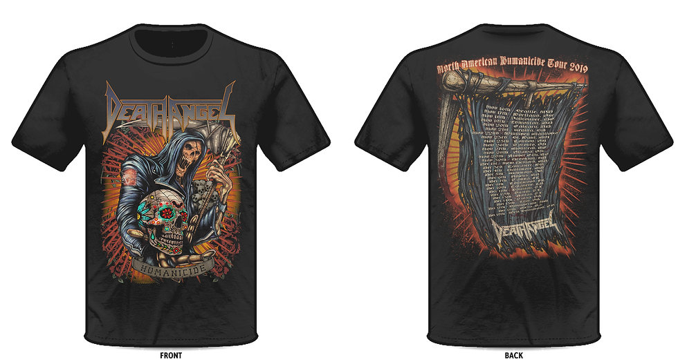 North American Humanicide 2019 Reaper Tour Tee