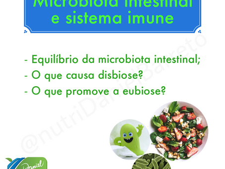 Microbiota intestinal e sistema imune