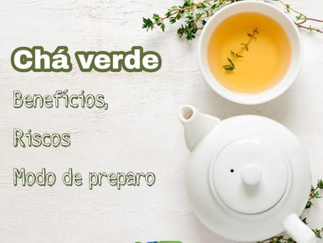 Chá verde: benefícios e riscos à saúde