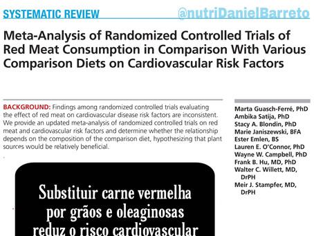 Carne vermelha aumenta o risco de doenças cardiovasculares