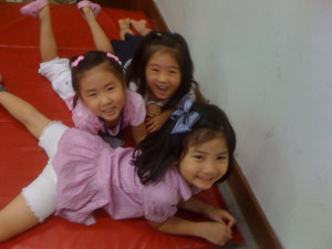 Little Korean Female Students