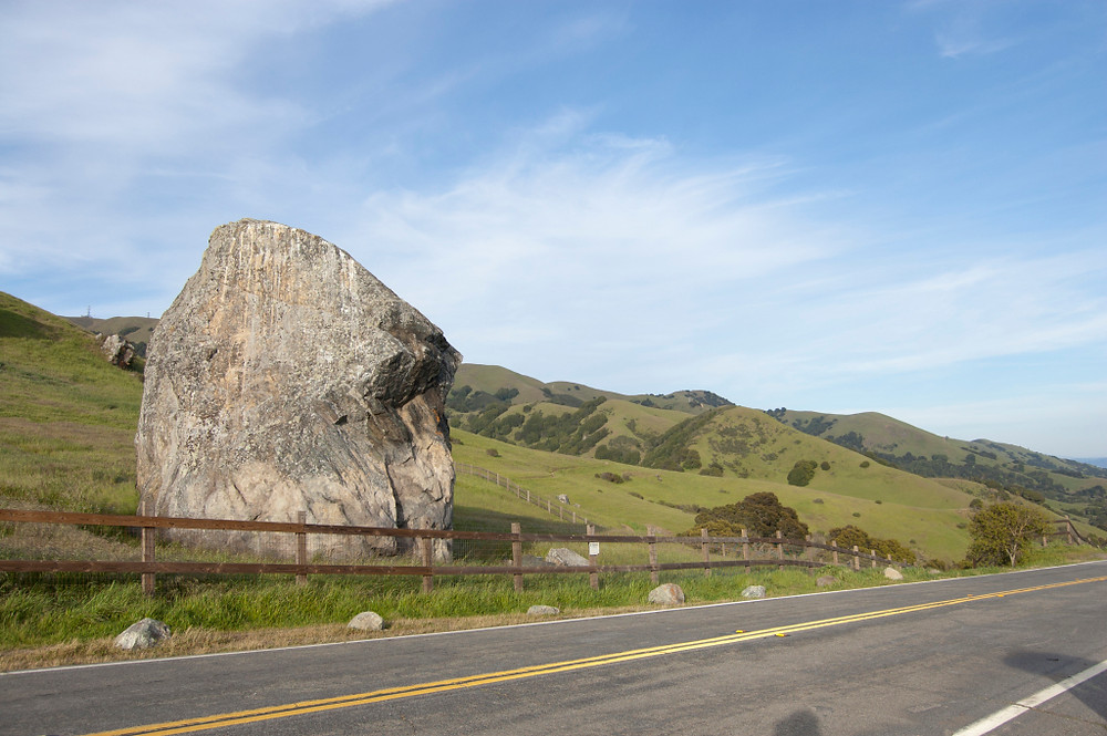 Trip to Skywalker Ranch, Lucas Valley, Big Rock