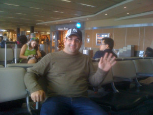 Ross Waves Goodbye to USA