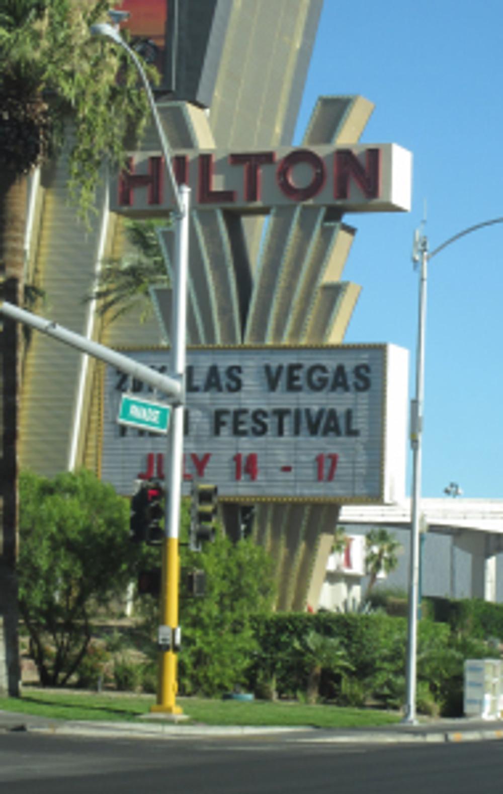Las Vegas Film Festival Marquee