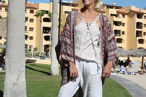 Sand & Mauve Kimono - Our Personal Collection