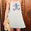 Thumbnail: Mint Dress with Aztec Blue Embrodery
