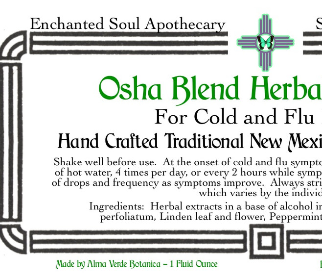 Osha Blend for Cold and Flu