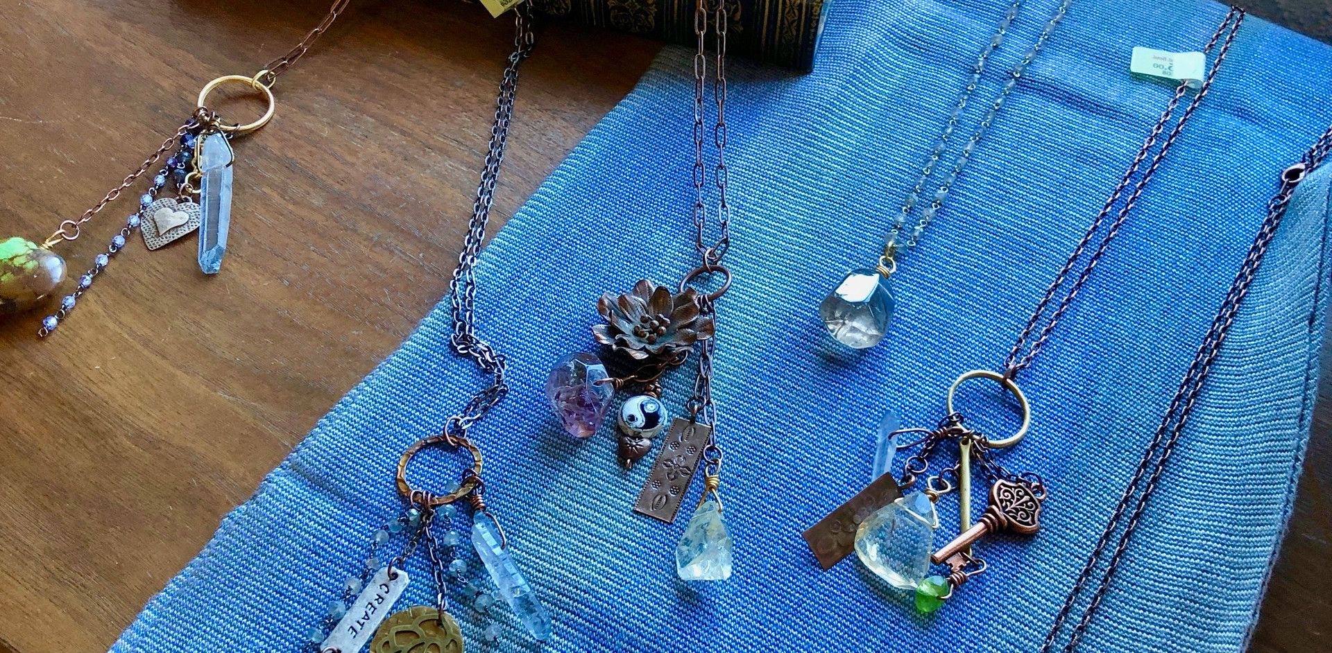 Healing Gemstone Trinket Necklaces