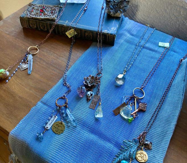 Healing Gemstone Trinket Necklaces