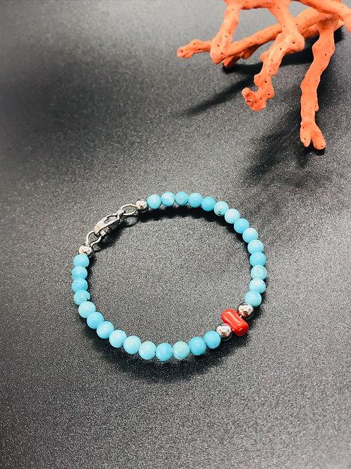 Bracelet enfant Corail Rouge