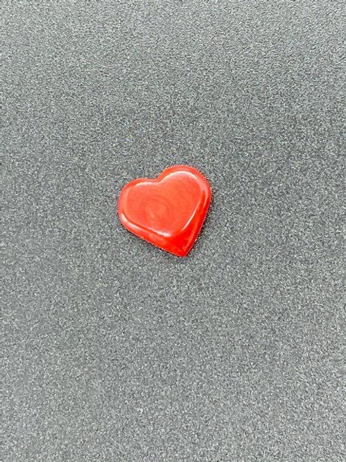 Cœur en Corail Rouge