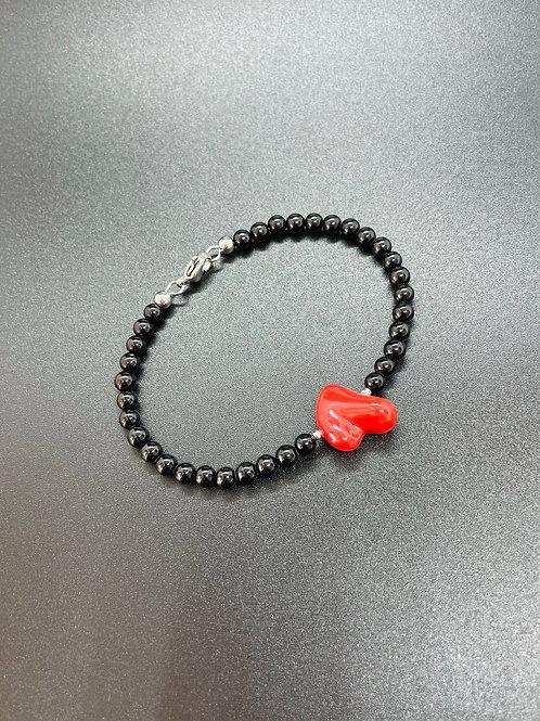 Coeur Corail Rouge