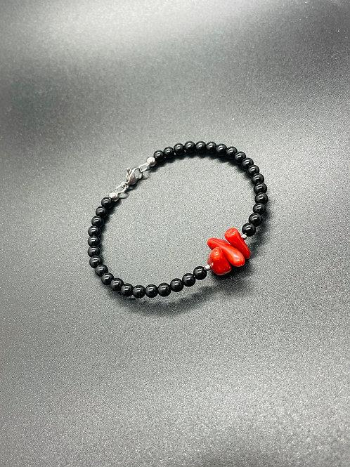 Bracelet Corail Rouge