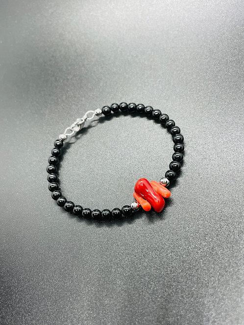 Corail Rouge et Tourmaline