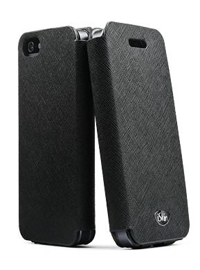 ISkin Vera Folio for iPhone 5/5S/SE - Black