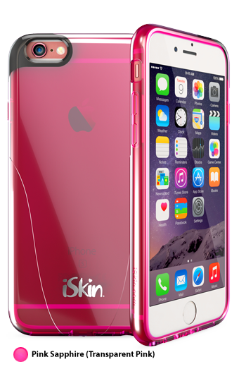 iSkin Claro for iPhone 6/6S Plus- Pink