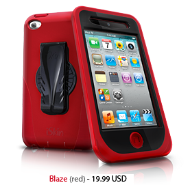Touch Duo for iPod Touch 4G- Red