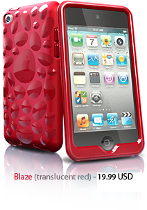Pebble for iPod Touch 4G- Red