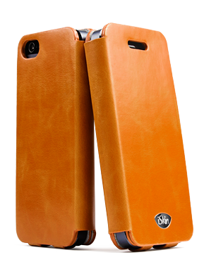 iSkin Vera Folio for iPhone 5/5S/SE - Brown