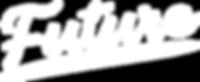 Future White Long Logo